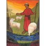 Psalm 22 (23): The Lord is my shepherd - Banner