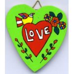 Heart of Love Plaque