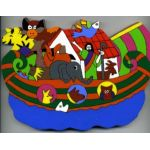 Noah's Ark (2) Cut Out Plaque