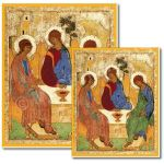 Rublev's Holy Trinity - Banner