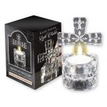 Glass Cross Tea Light Holder/ Water Font