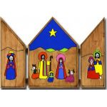 Crib Triptych (Large)