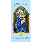 Our Lady of Walsingham - Banner BAN1159