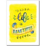 What is Beauty: Life is beautiful - Banner BAN671