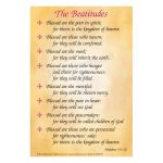 Card - The Beatitudes - Pack of 10 (A5)