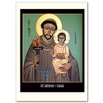 St. Anthony of Padua Icon Card (CA8187)