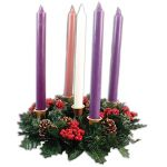 Advent Candles and Wreath - CBC88630