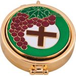 Pyx: Cross and Grapes (CBC88850)