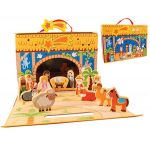 Wooden Nativity Set (CBC89380)