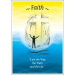 Core Values: Faith Poster