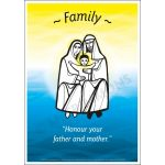 Core Values: Family Poster