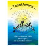Core Values: Thankfulness Poster