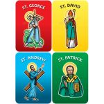 National Saints Set of 4 - DiBond Display Boards DBSTDBSET