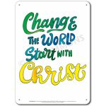 Be the Change: Change the World - Display Board 661