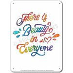 What is Beauty: There is beauty in everyone - Display Board 665