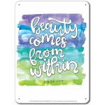 What is Beauty: Beauty comes from within - Display Board 667