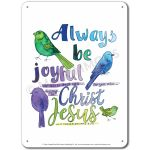Love Scripture: Always be joyful for this is God's will… - Display Board 686