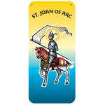 St. Joan of Arc - Display Board 870