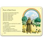 Prayer of Saint Francis - A3 or A2 Display Board