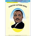 Martin Luther King, Jr. - Poster A3 (IP1241)