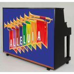 Piano Hanging Banner - Alleluia