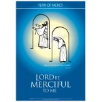 God be merciful to me - Year of Mercy Poster