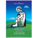Jesus and the child - Year of Mercy Poster