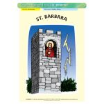 St. Barbara - Poster A3 (STP1056)
