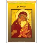 St. Mary - Poster A3 (STP1090)