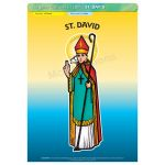 St. David - Poster A3 (STP713BY)