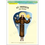 St. Francis of Assisi - A3 Poster (STP718B)