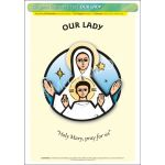 Our Lady - A3 Poster (STP726)