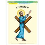 St. Andrew - Poster A3 (STP730)