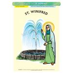 St. Winifred - A3 Poster (STP756)