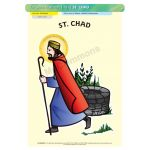 St. Chad - A3 Poster (STP781)