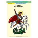 St. George - A3 Poster (STP799)