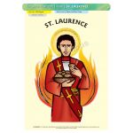 St. Laurence - A3 Poster (STP879)