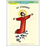 St. Stephen - A3 Poster (STP985)