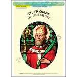 St. Thomas of Canterbury - Poster A3 (STP988D)