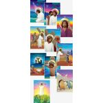 A Way of the Cross for Children Display Board Set