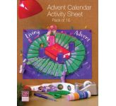 Advent Calendar Activity Sheet (Pack of 16)