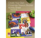 Create your own Christmas Season Booklet Activity Sheet ( Pack of 16)