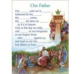 Our Father Activity Sheets (Pack of 16)