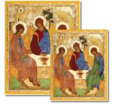 Rublev's Holy Trinity Display Board