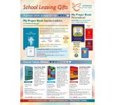 School Leaving Gifts - FREE PDF download