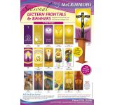 Lectern Frontal Brochure - Lent and Easter - FREE PDF download