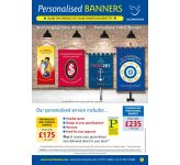 Personalised Banner and Lectern Frontal Brochure - FREE PDF Download