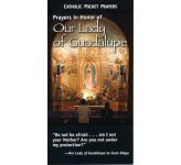 Catholic Pocket Prayers in honour of Our Lady of Guadalupe / Pk25