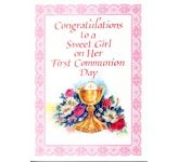First Communion (Girl) Card (CB1423)