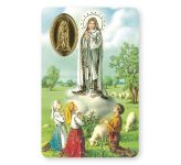 Our Lady of Fatima Laminated Prayer Leaflet